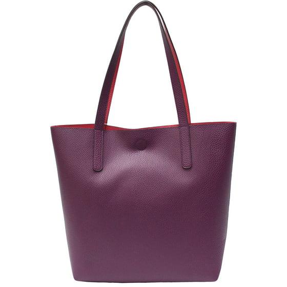 7748f9f24 George - Women's Reagan Reversible Classic Tote Handbag - Walmart.com