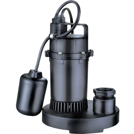 Acquaer 1 3 Submersible Sump Pump