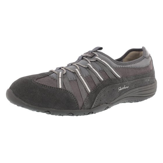 6ee99b4034263 Skechers Unity Beaming Womens Slip On Sneakers Charcoal/Silver 10