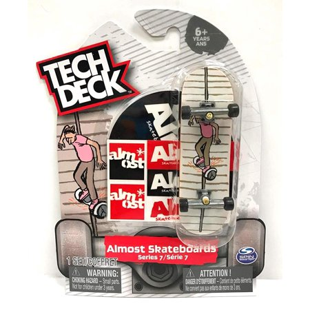 Tech Deck Almost Skateboards Series 7 Rare Fingerboard Spin Master Toy
