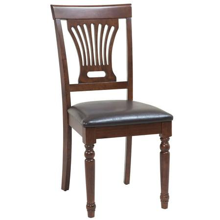 Sturdy Dining Chairs Finish Espresso Quantity 6 Piece