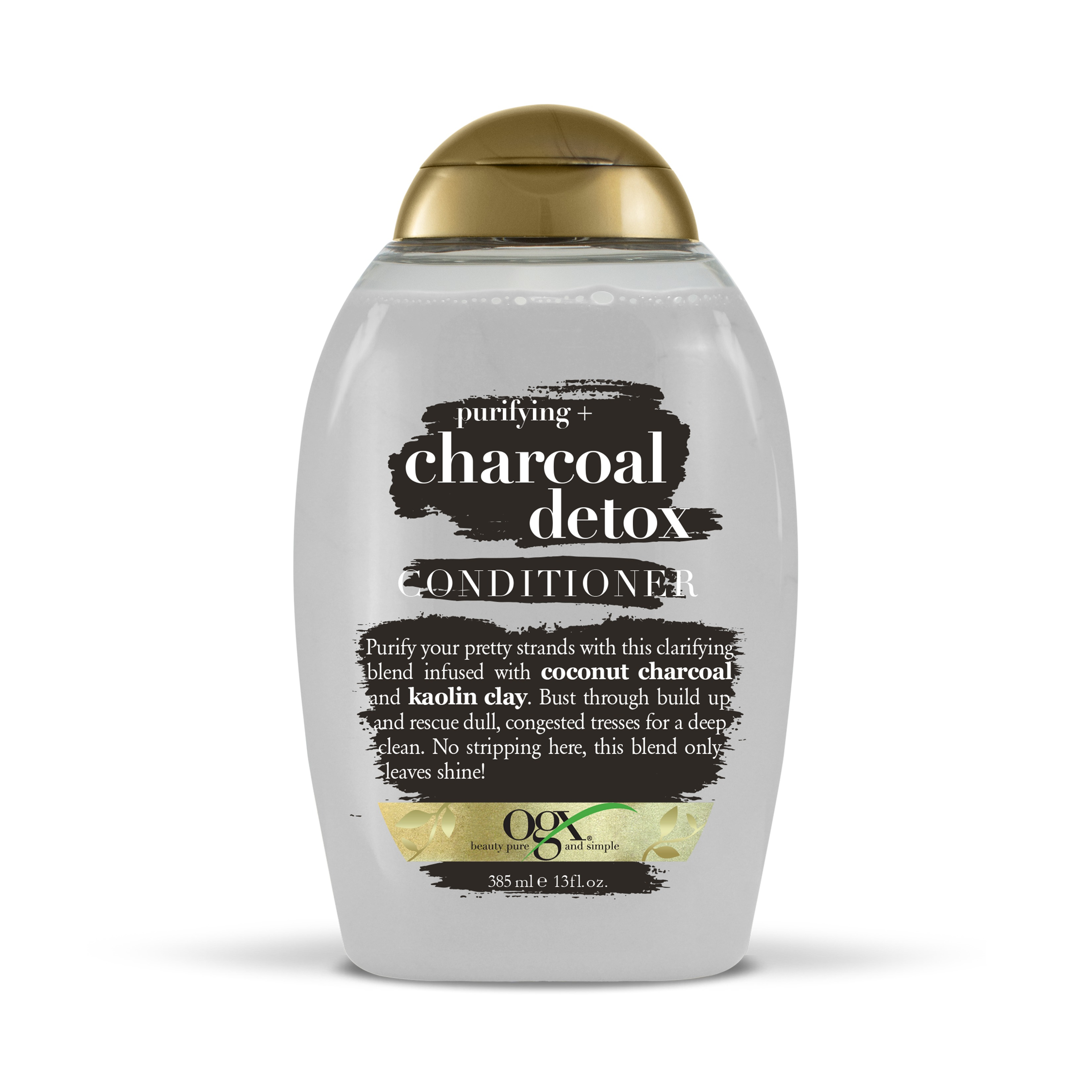 OGX Purifying + Charcoal Detox Conditioner, 13 oz