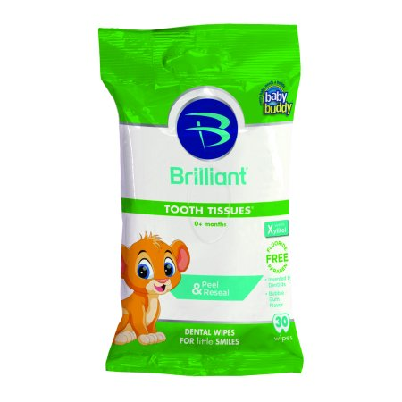 Baby Buddy Tooth Tissues Dental Wipes, 30 sheets