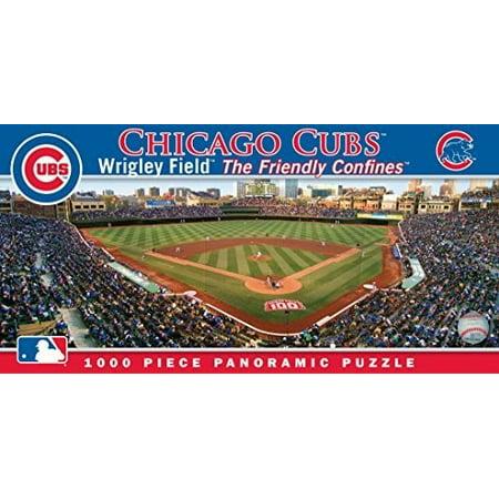 MasterPieces Chicago Cubs 1000PC Panoramic Puzzle ()