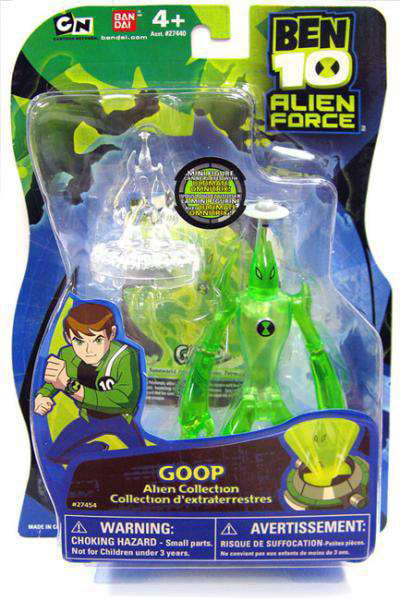 Ben 10 Alien Collection Goop Action Figure [No Packaging] by