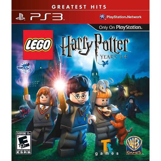 Warner Bros Lego Harry Potter Years 1 4 Ps3 Walmart Com