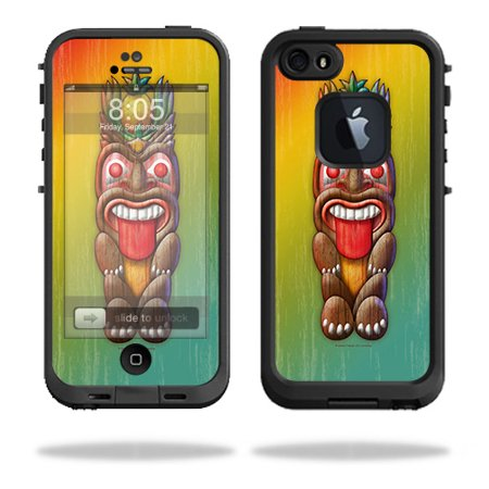 Skin For LifeProof iPhone 5 / 5S Fre Case – Tiki Man | MightySkins Protective, Durable, and Unique Vinyl Decal wrap cover | Easy To Apply, Remove, and Change Styles | Made in the USA - Halloween In 5s Online Office
