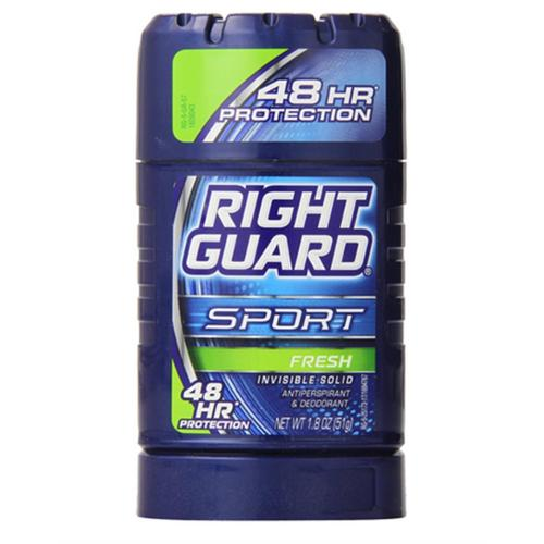 Right Guard Sport Invisible Solid Antiperspirant & Deodorant Stick, Fresh 1.8 oz (Pack of 6)