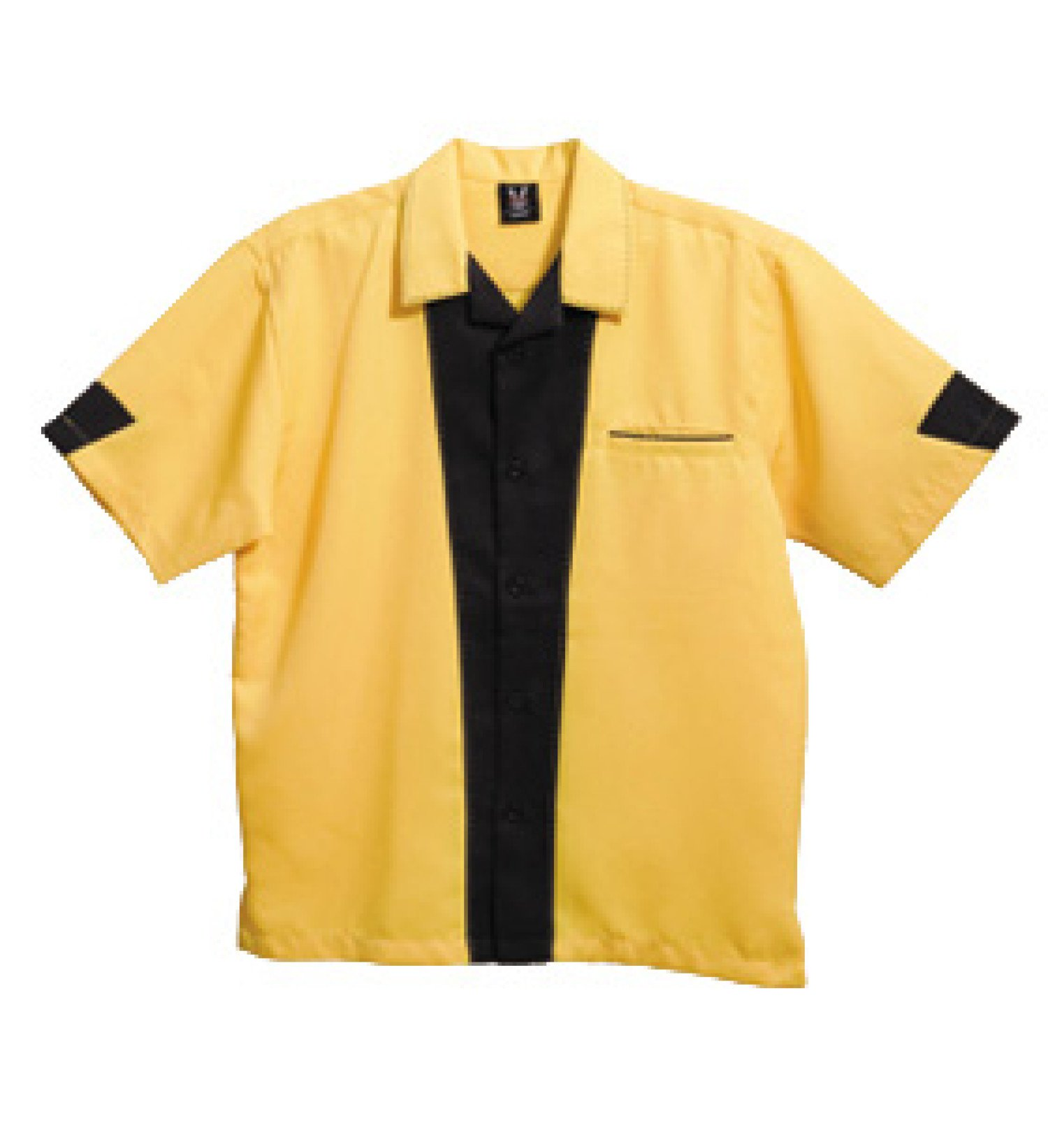 Hilton Mens Bowling Retro Monterey Bottom Shirt