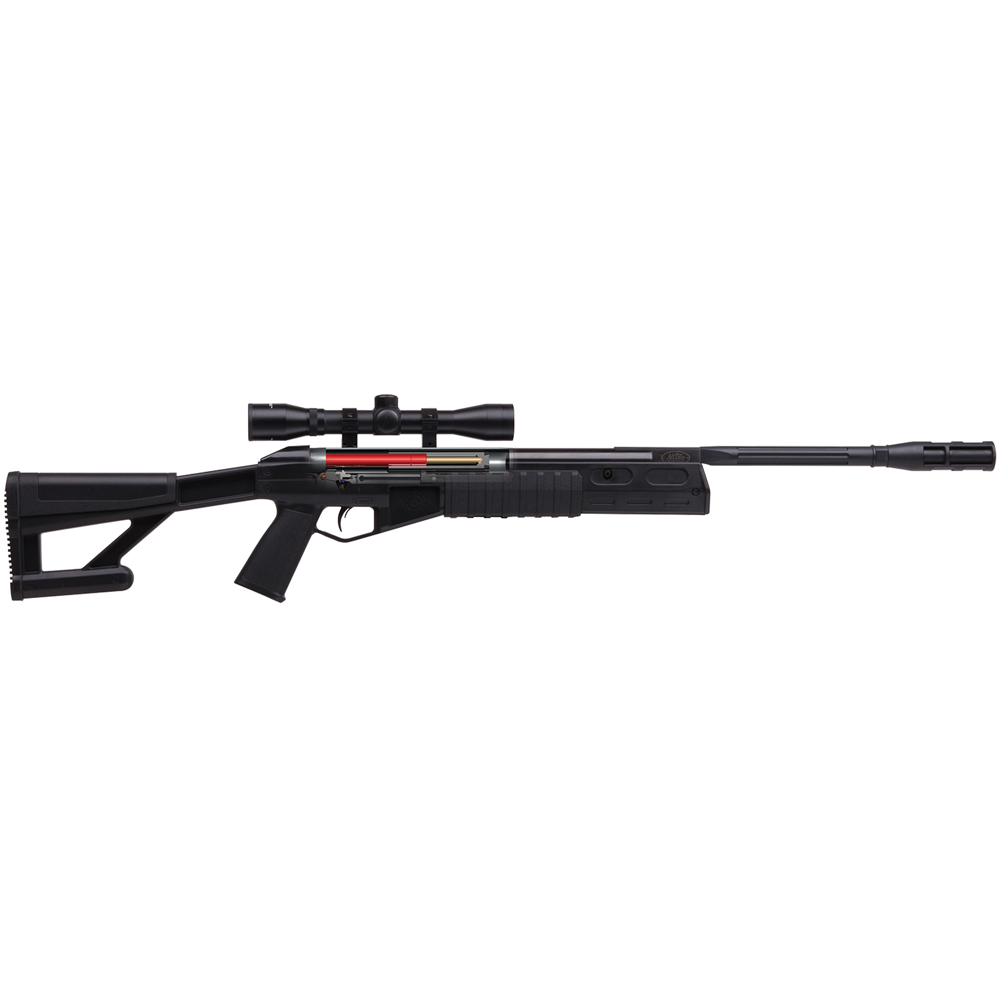 Click here to buy Crosman TR77 NP .177 Caliber Air Rifle with Scope, 1200fps by Crossman.