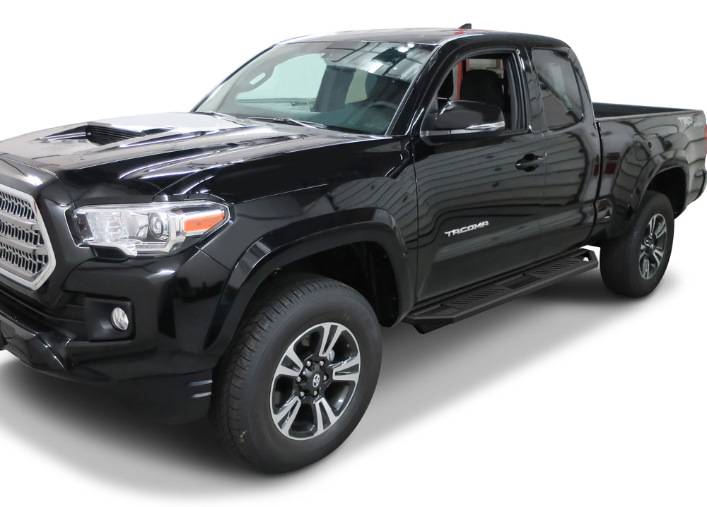 APS Drop Steps Running Boards Rocker Slider Compatible with 2005-2020 Tacoma Extended//Access Cab