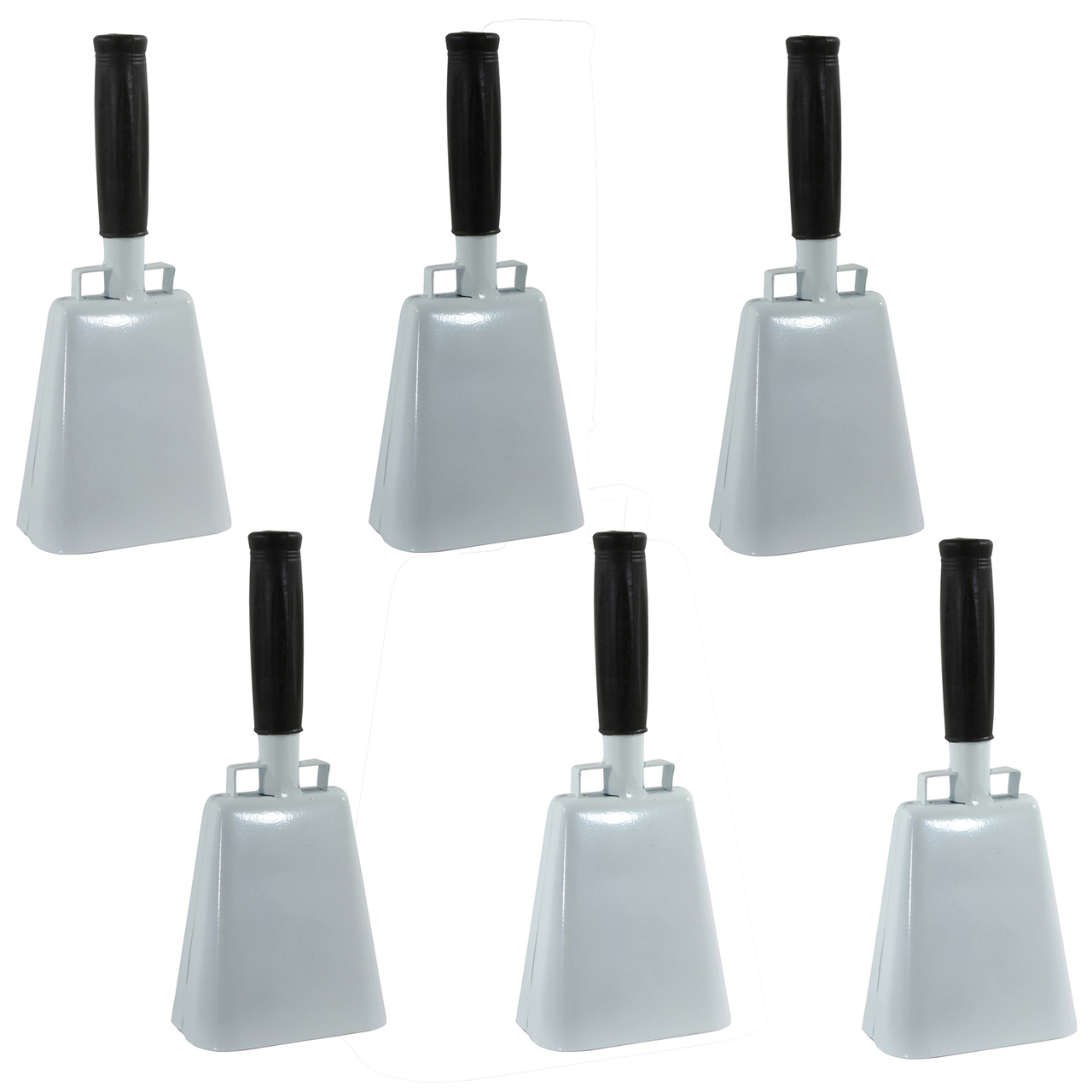 Buffalo Tools COBLSET Customizable 6 Piece 10 Inch Cow Bell Set by