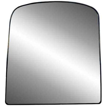 88249 - Fit System Driver Side Non-heated Mirror Glass w/ backing plate, Chevrolet Avalanche 03-13, Silverado, Sierra 03-18, Suburban, Yukon 03-14 (tow Mirror top lens, 1st design, w/ o signal) (Chevrolet Suburban Mirrors)