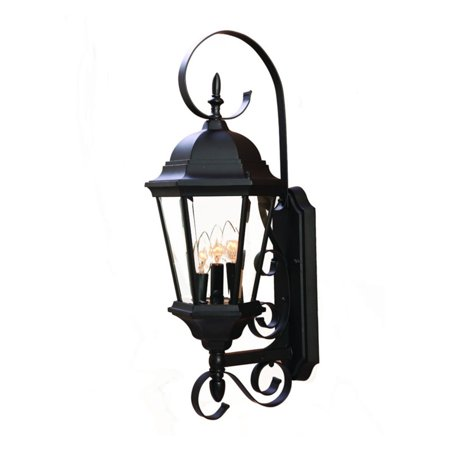 Street Wall Mount Outdoor Light (Acclaim Lighting New Orleans 3 Light Outdoor Wall Mount Light Fixture)
