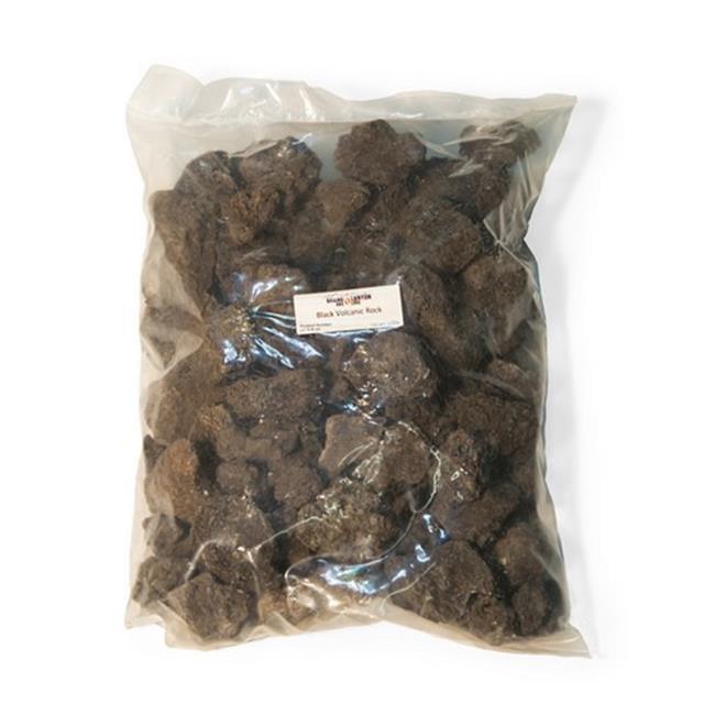 Grand Canyon Gas Logs HP-B-R-10 Black Volanic Lava Rock 10 lbs