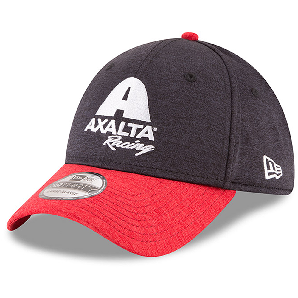 Alex Bowman New Era Axalta Driver 39THIRTY Flex Hat - Navy