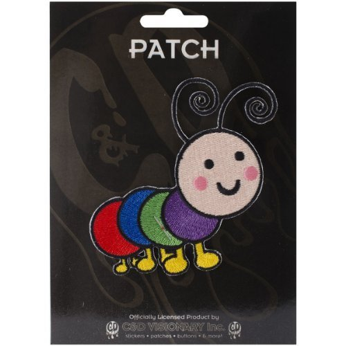 Application Animals Rainbow Caterpillar Patch by Application