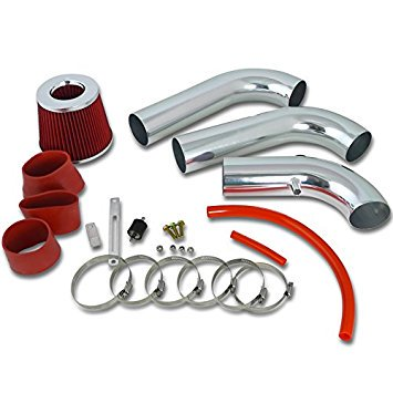 Spec-D Tuning AFC-RAM03V8RD-AY Dodge Ram 1500 2500 3500 5.7L V8 HEMI Cold Air Intake+Red Filter