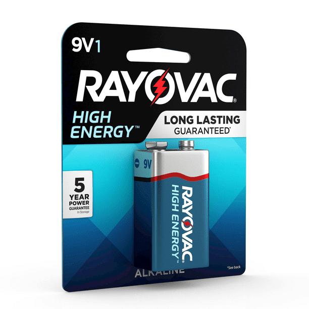 Rayovac High Energy Alkaline 9v Batteries 1 Count Walmart Com