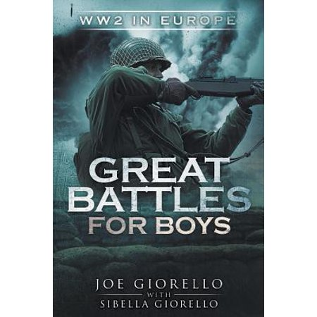 Great Battles for Boys : Ww2 Europe](Present For 4 Year Old Boy)