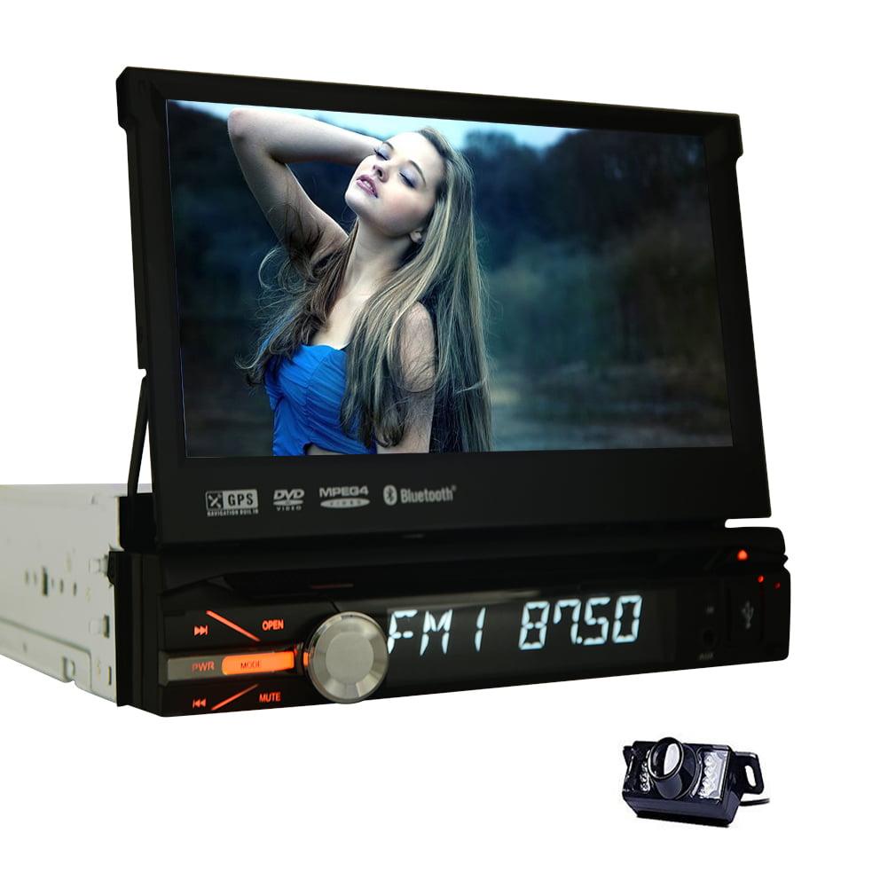 EinCar 7 Inch Single Din In Dash HD Touch Screen Car DVD ...