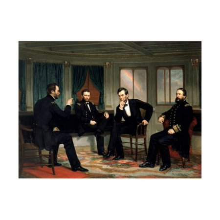 Alexander Wall (The Peacemakers, 1865 Print Wall Art By George Peter Alexander Healy )