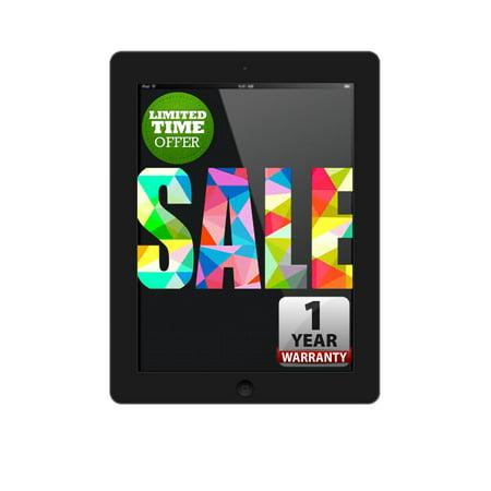 Apple iPad 3 Black 32GB Wi-Fi Only with 1 Year Warranty ()