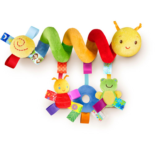 Taggies Go With Me Friends Spiral Activity Toy