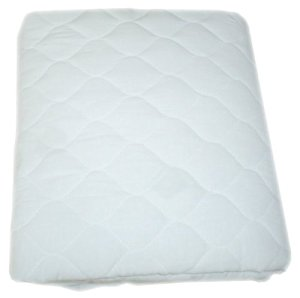American Baby Company Waterproof Fitted Quilted Bassinet Mattress Pad Cover, 2-Pack