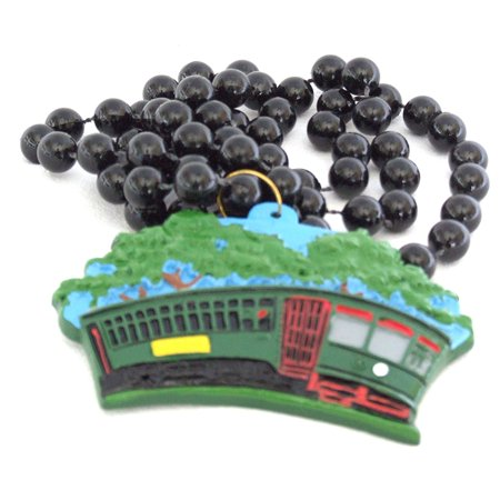 Street Car Avenue Mardi Gras Beads New Orleans Carnival Bayou Lousianna Cajun Creole Party, Genuine Specialty Mardi Gras Theme Beads- By Mardi Gras World Ship from US](Mardi Gras Themes)