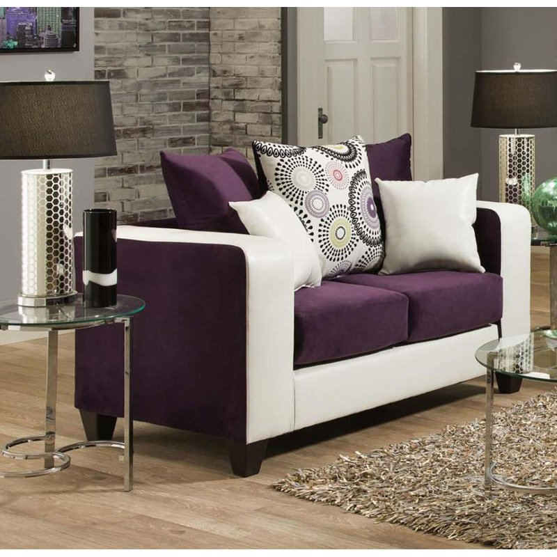 Chelsea Home Furniture Emboss Loveseat