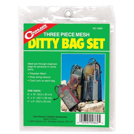 Coghlans 9869 3 Count Mesh Ditty Bag Set - image 1 of 1