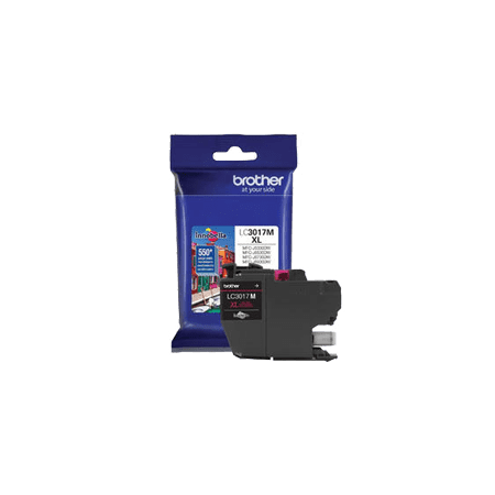 ~Brand New Original BROTHER LC3017M High Yield INK / INKJET Cartridge Magenta for Brother MFC-J6930DW - image 1 of 1