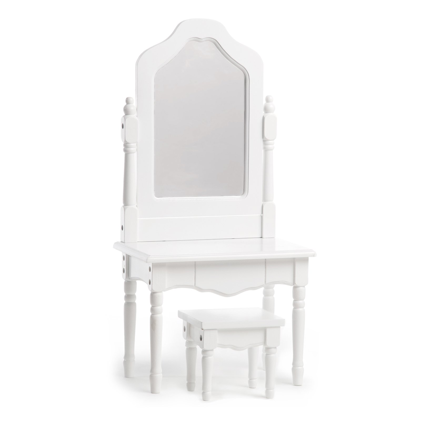 Laurent Doll Vanity and Stool 18 in. Doll Accessory