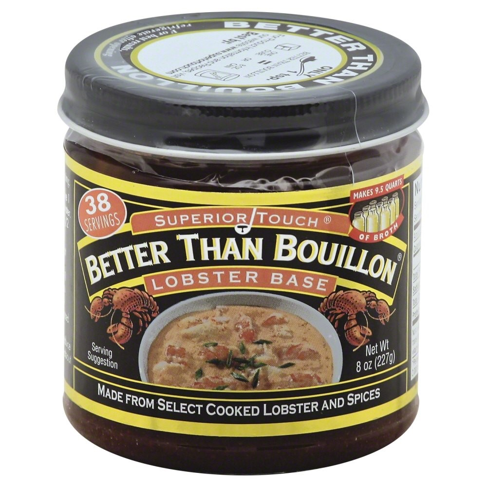 Better Than Bouillon Lobster Base, 8 Oz by Southeastern Mills Inc