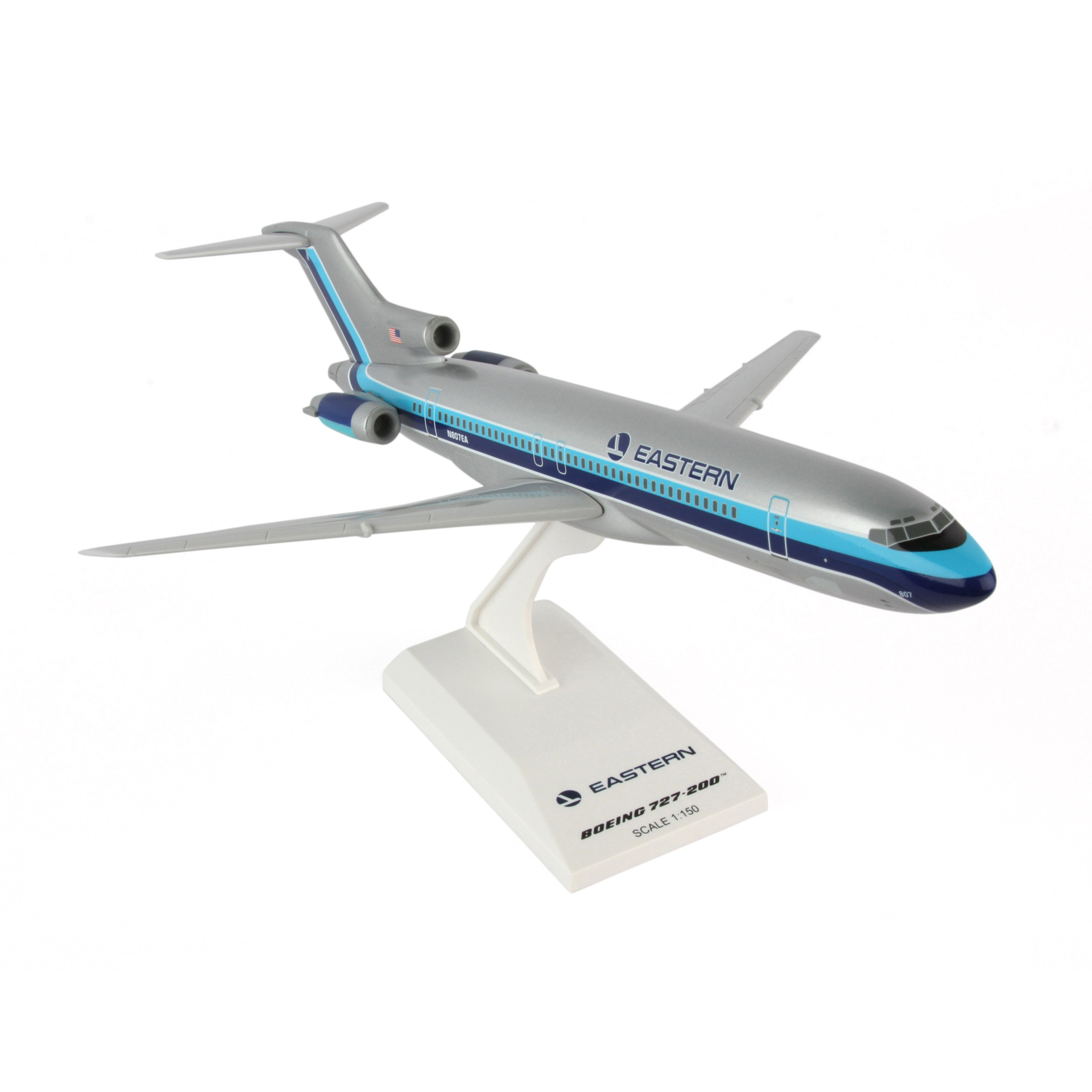 Skymarks Eastern 727-200 1 150 Model Airplane by Daron Worldwide Trading Inc