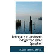 Beitrage Zur Kunde Der Indogermanischen Sprachen