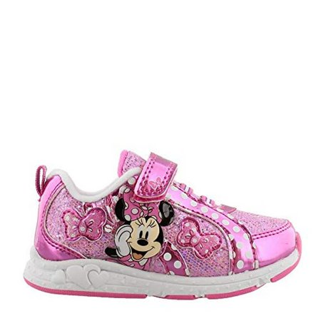 Josmo Girls Minnie Mouse Sneakers, Kids for $<!---->