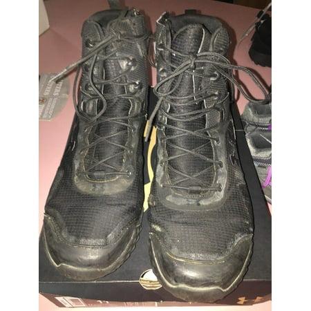 2e776446565 Under Armour Men's Valsetz RTS Side Zip 1257847-001 Tactical Boot Black  Size 11
