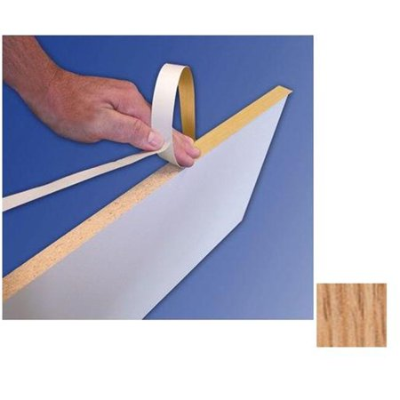 - Fastcap Fastedge Peel & Stick Edge Tape 50' Roll Unfinished Red Oak