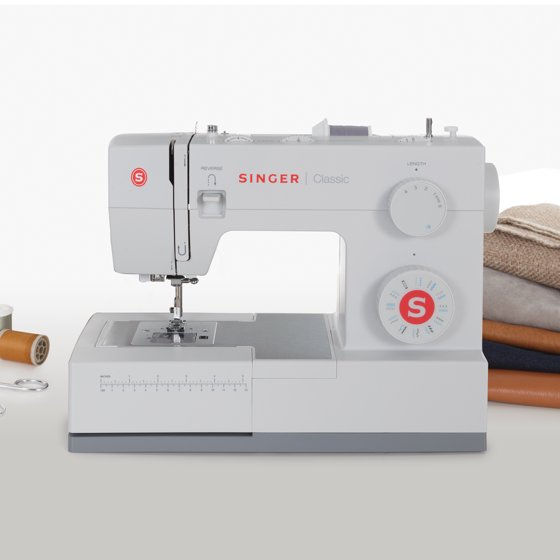 SINGER 40S Classic Heavy Duty Sewing Machine With 40 BuiltIn Gorgeous Singer 44s Classic 23 Stitch Sewing Machine