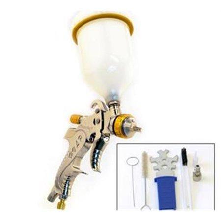 Paasche LXG-20 HVLP Gravity Feed Spray Gun with 2.0 mm (Neiko 2-0 Mm Hvlp Air Spray Gun)