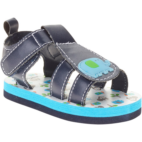 Gerber Newborn Boy Elephant Soft-Sole Sandals