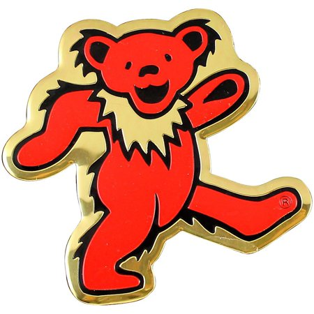 C&D Visionary Grateful Dead Bear Heavy Metal Sticker Heavy Metal Stickers