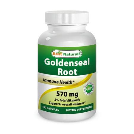 Best Naturals Echinacea Goldenseal 450 mg 250 Capsules