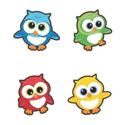 IN-62/9458 Owl Bulletin Board Cutouts 48 Piece(s)
