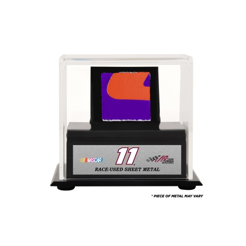 Denny Hamlin Fanatics Authentic Display Case With Race-Used Sheet Metal - No Size