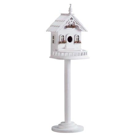 Outdoor Birdhouse, Cheap Finch Sparrow Chickadee Standing Bird Houses Outdoor