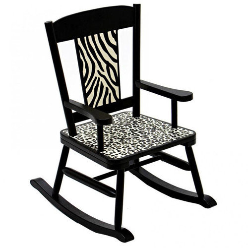 Levels of Discovery Wild Side Kid's Rocking Chair