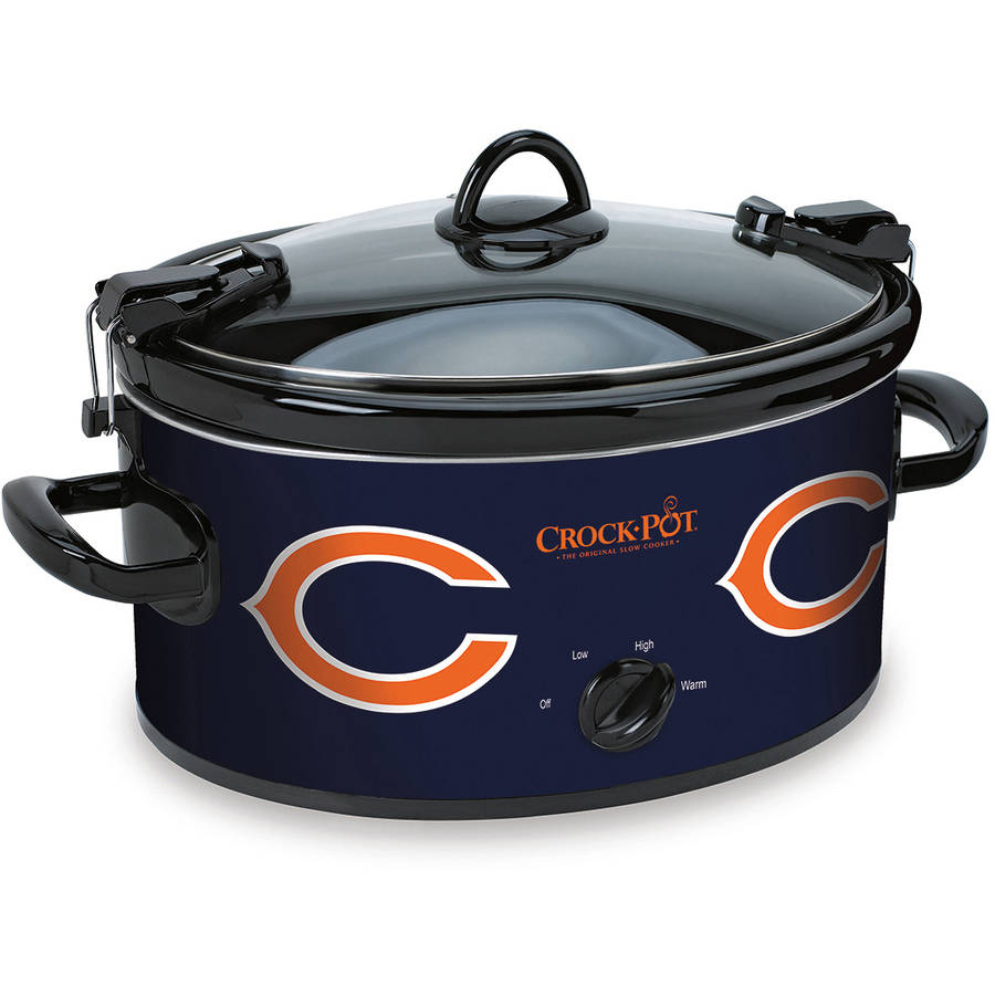 Crock-Pot NFL 6-Quart Slow Cooker, Chicago Bears
